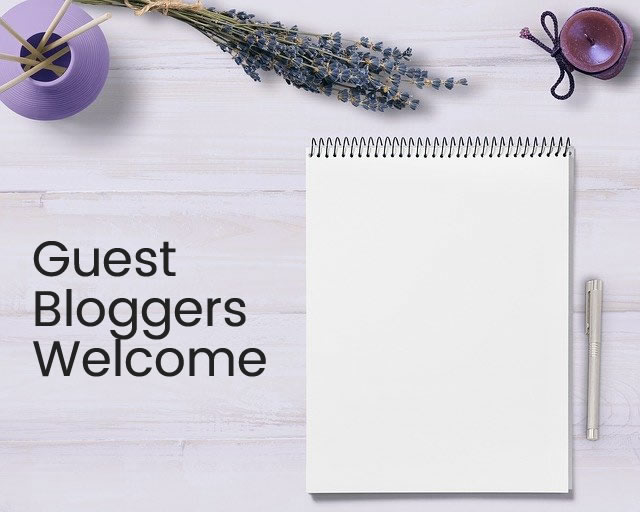 Contribute To Our Articles By Being A Guest Blogger